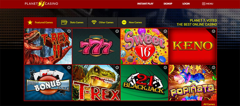 Discover the Best Games at Planet 7 Casino