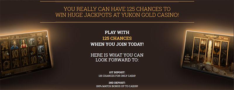 Yukon gold Bonus