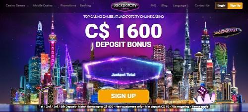 Jackpot City Deposit Casino