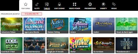 Royal Vegas Top Games